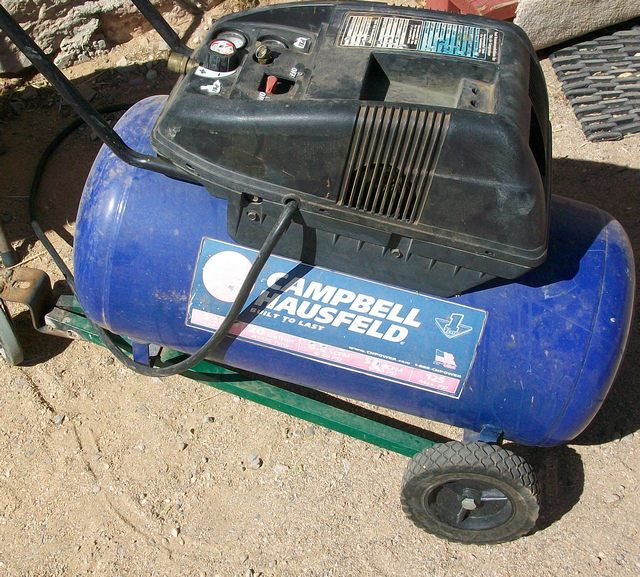 Older Campbell Hausfeld Air Compressor : The campbell hausfeld air compressor repair was made for
