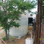 1500 gallon polyethylene tank