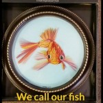 Quilled Gold Fish