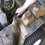 Checking transaxle