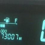 Prius mileage