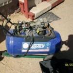 20gal Campbell Hausfeld Air Compressor