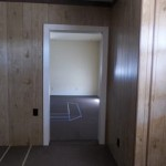 finished doorway