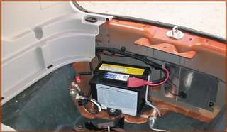 New Battery Installed on 2006 Chevy Hhr Thermostat Replacement