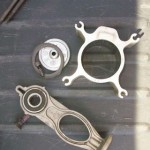 old piston, cyclinder assembly