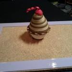 Paper quilled cupcake suprise