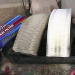 New and used engine air filters