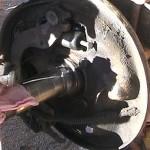 Old Brake Cylinder, New One Installed