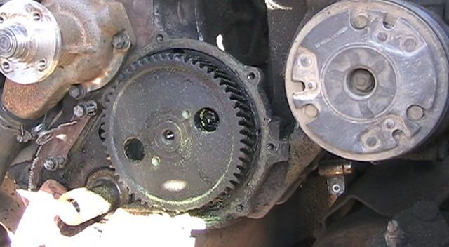 1987 F150 i6 (4 9l, 300cu in ) Fan Clutch Removal and Timing